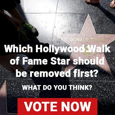 Which Hollywood Walk of Fame Star should be removed first?